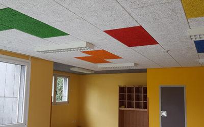 Soprema Iberia entra en el sector del acondicionamiento acústico con sus paneles para paredes y techos Fibro-Kustik